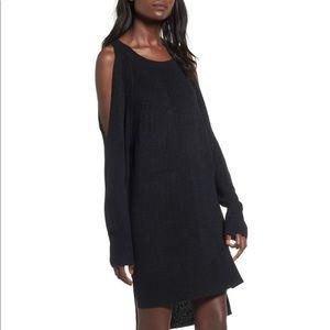 Nordstrom Black Sweater Dress Tunic